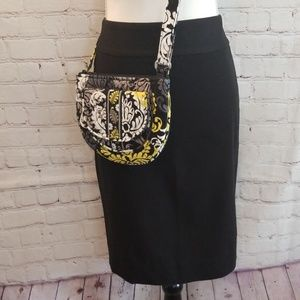 Banana Republic Black Stretch Pencil Skirt